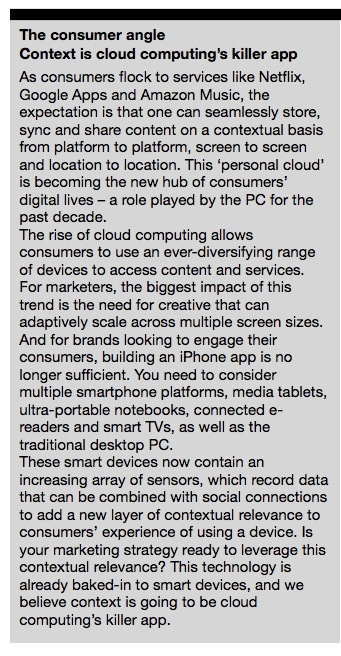 Cloud computing 101 – Intro for the time-poor marketer