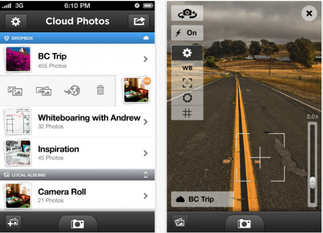 Cloud Photos Automatically Uploads Photos To Dropbox, Saves Storage Space On ...