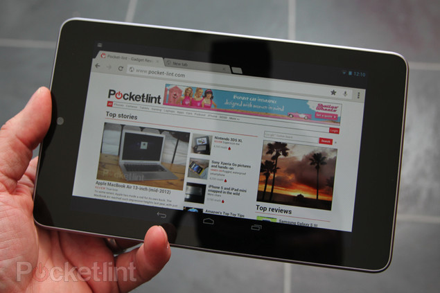 Nexus 7 16GB sold out after customers shun Googles cloud service