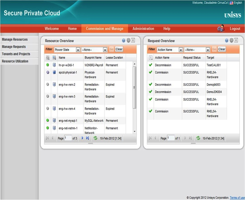 Unisys Announces Secure Private Cloud Solution 2.2 with Stealth Solution for ...
